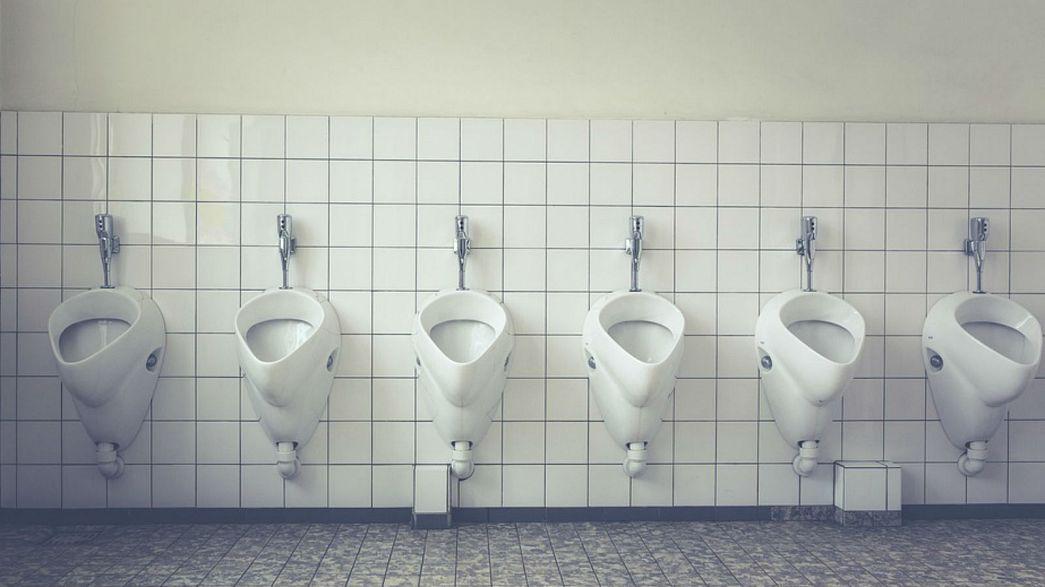 Hollandalı kadınların tuvalet protestosu