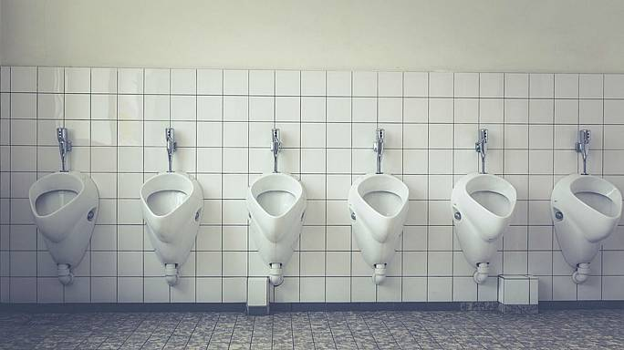 Dutch women snap selfies in public urinals to protest lack of female toilets