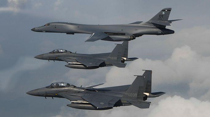 ABD bombardıman uçakları Kuzey Kore sınırında
