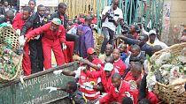 Street children offered job to clean up Kenya's capital for rent allowance