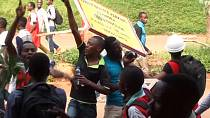 Ugandan police say 48 arrested age-limit protesters to be processed for court