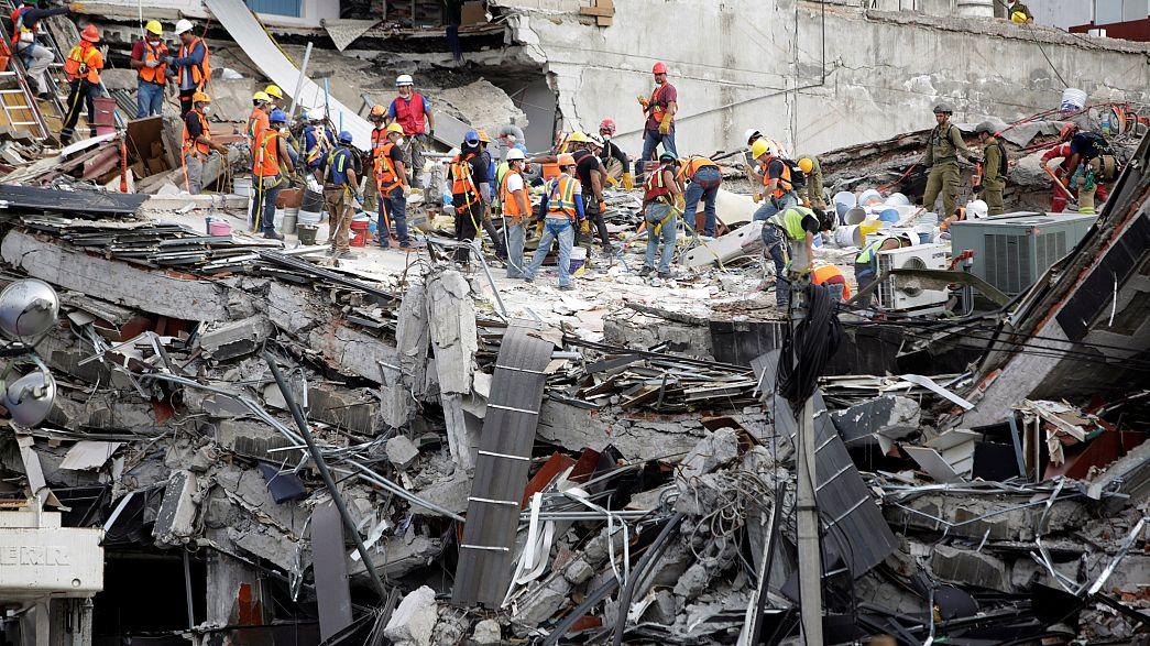 Мощное землетрясение в штате Оахака