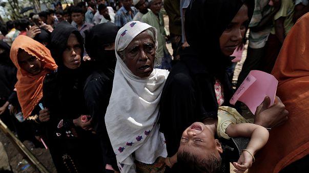 Rohingya em situação de emergência