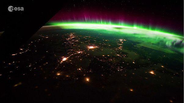 Italian astronaut captures breathtaking footage of aurora from space