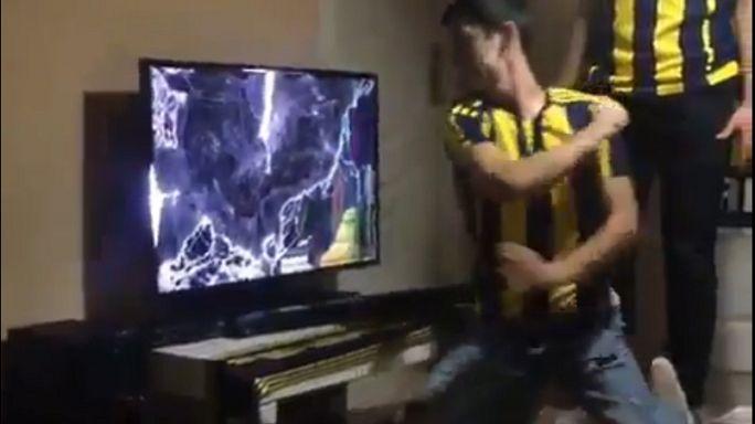 Fenerbahçeli taraftarın derbi öfkesi