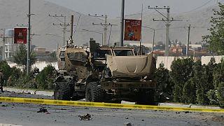 NATO-Konvoi in Afghanistan angegriffen