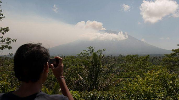 Bali, en máxima alerta por la posible erupción del Monte Agung
