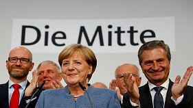 Una nueva victoria de Merkel, ensombrecida por el histórico resultado de la ultraderecha