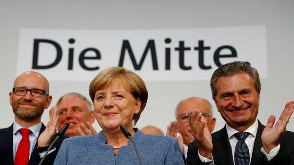Victoire de Merkel, gâchée par la percée de l'extrême droite