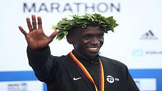 Kipchoge beats debutant Adola in Berlin Marathon
