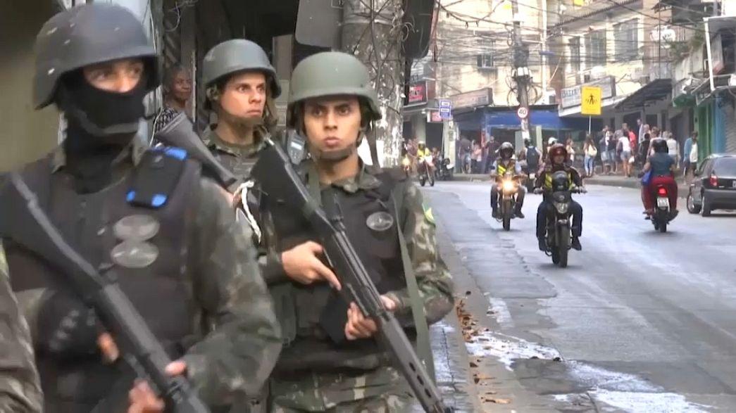 Favela da Rocinha sob controlo