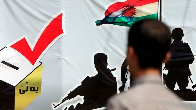 Barzani'den Iraklı Kürtlere sandığa gidin çağrısı