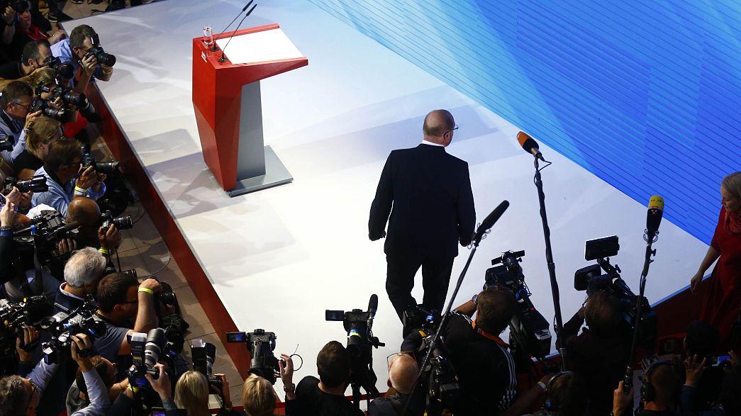 Мартин Шульц признал поражение СДПГ