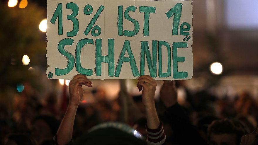 No al AfD: Protestas en Alemania contra el avance electoral de la ultraderecha