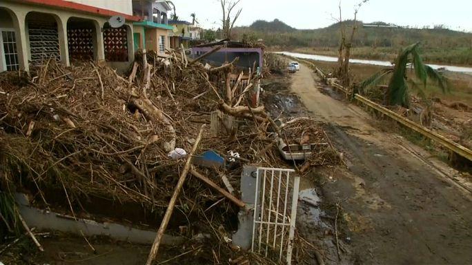 Puerto Rico von Außenwelt abgeschnitten