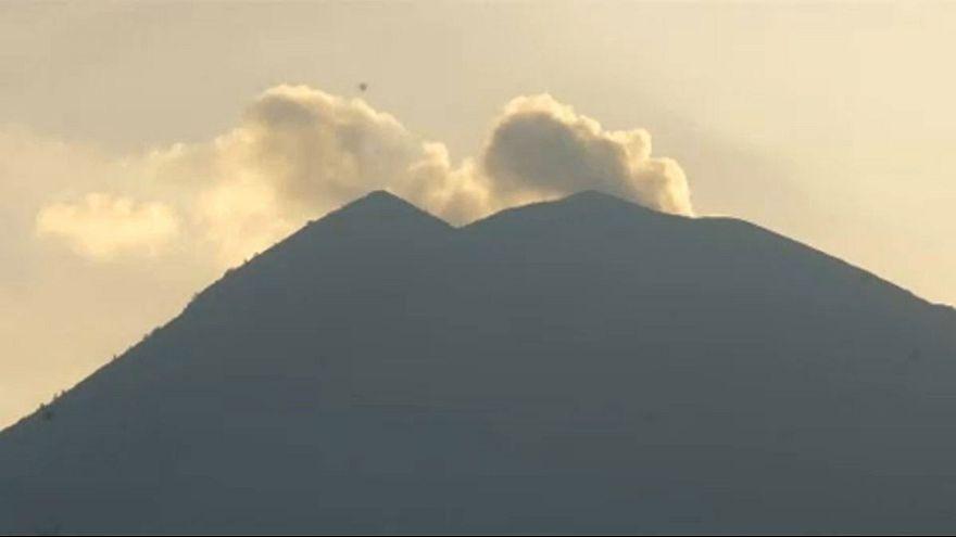 Kitörésre kész az Agung vulkán