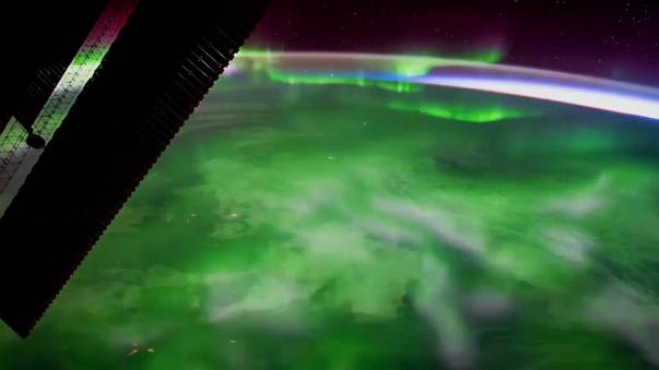 ESA releases film of Aurora Borealis shot from ISS