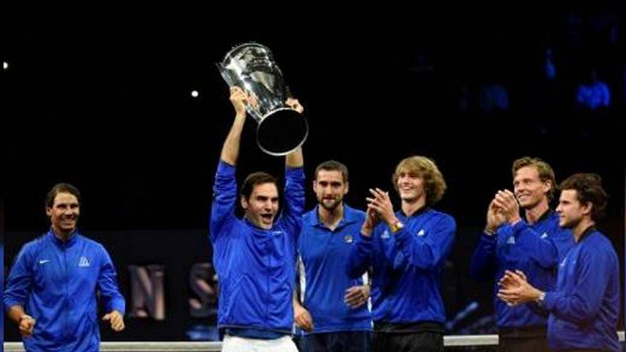 Európai győzelem a tenisz Laver Kupán