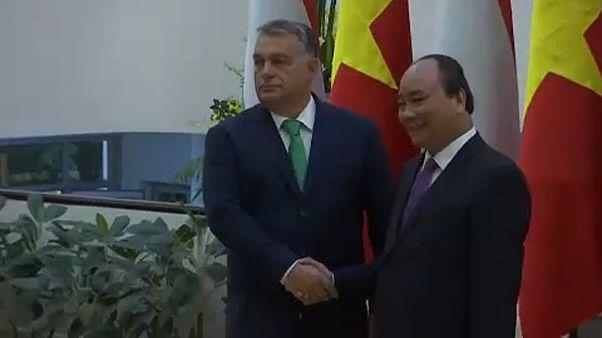 Vietnámi-magyar csúcs Hanoiban