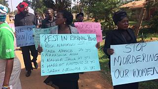 Mystery murders of Ugandan women: riot police arrests protesters