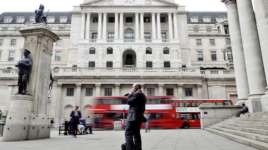 Bedőlő hitelekre figyelmeztet a brit jegybank