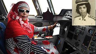 [Photos] Somalia celebrates Africa's first female pilot, Asli Hassan Abade