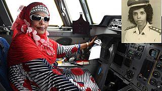 [Photos] Somalia celebrates Africa's first female pilot, Asli Hassan Abade