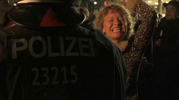 Протесты в Берлине против АДГ
