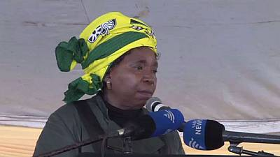 Nkosazana Dlamini Zumah returns to the political spotlight in South Africa