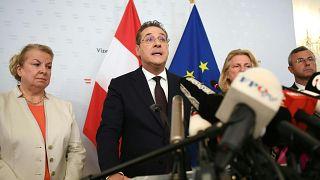 Image: AUSTRIA-POLITICS-FAR-RIGHT-RESIGNATION