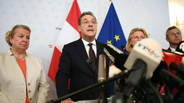 Image: AUSTRIA-POLITICS-FAR-RIGHT-RESIGNATION