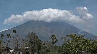 Bali sous la menace du volcan Agung