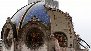 Historic churches damaged in Mexico earthquake