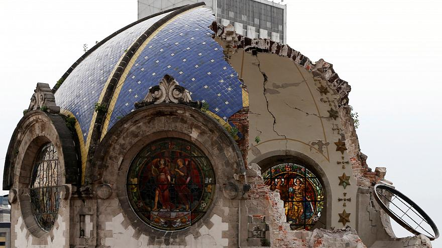 Разрушенные храмы Мексики