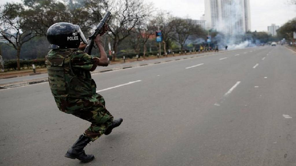 Kenyan police use teargas to disperse opposition protesters in 3 cities