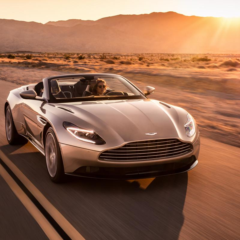 Aston Martin: The New DB11 Volante Light Convertible