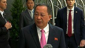 """Nordkorea wertet Trumps Worte als """"Kriegserklärung"""""""