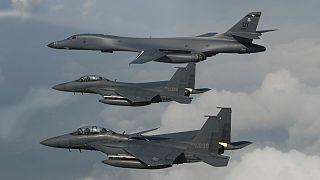 Kuzey Kore: Sınırımızda uçan ABD uçaklarını vururuz
