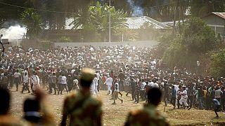 Éthiopie : la police et les armes interdites sur le site du festival d'Irrecha