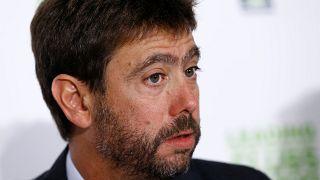 Le président de la Juventus suspendu