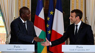 """La Centrafrique """"a besoin d'un État fort"""", selon Emmanuel Macron"""