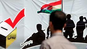 Alta participación en el referéndum de independencia del Kurdistán
