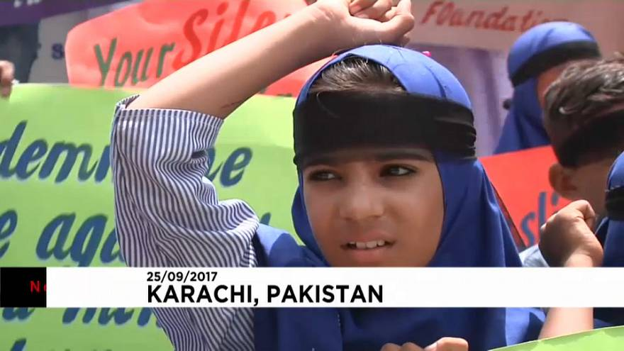 Пакистан: марш солидарности с рохинджа