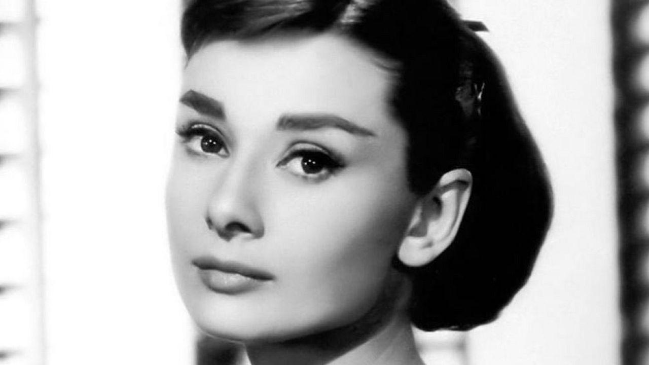 A glimpse of Audrey Hepburn