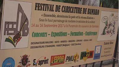 First cartoon festival held in Mali