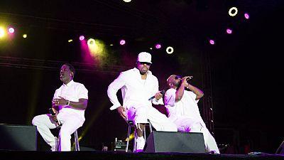 Legendary R&B music group Boyz II Men comes alive in Zambia