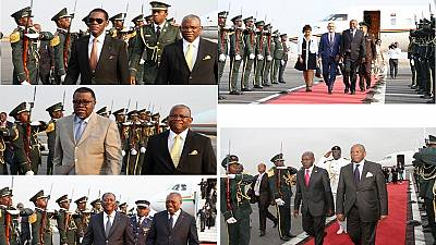 Angola invites 26 heads of state to new president's inauguration, over a dozen arrive