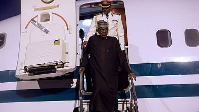 Nigeria's Buhari returns to Abuja after three-day stop over in London