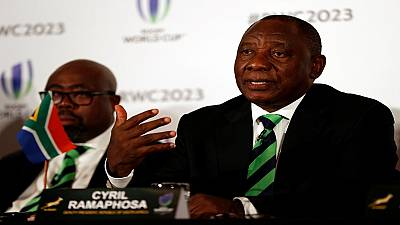South Africa pitches for 2023 Rugby World Cup