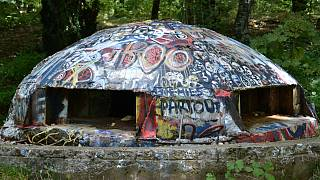 Albania's communist bunkers put to new use